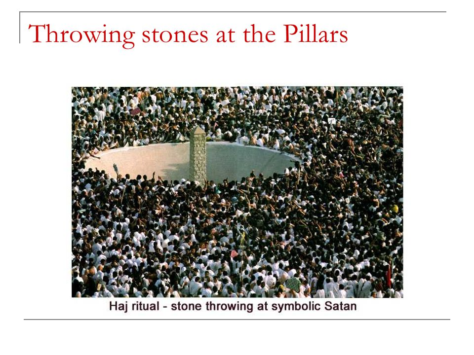 Throwing stones at the Pillars