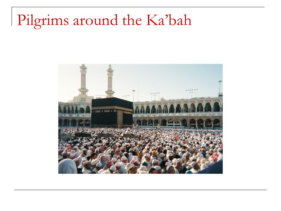 Pilgrims around the Ka'bah
