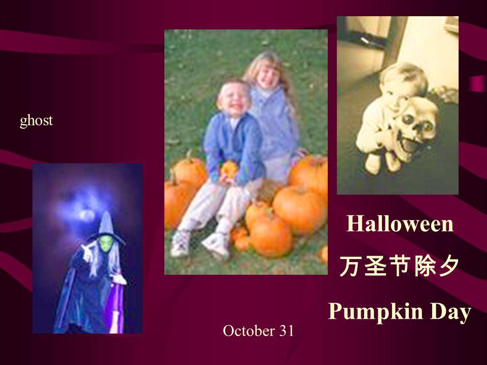Halloween 万圣节除夕 Pumpkin Day