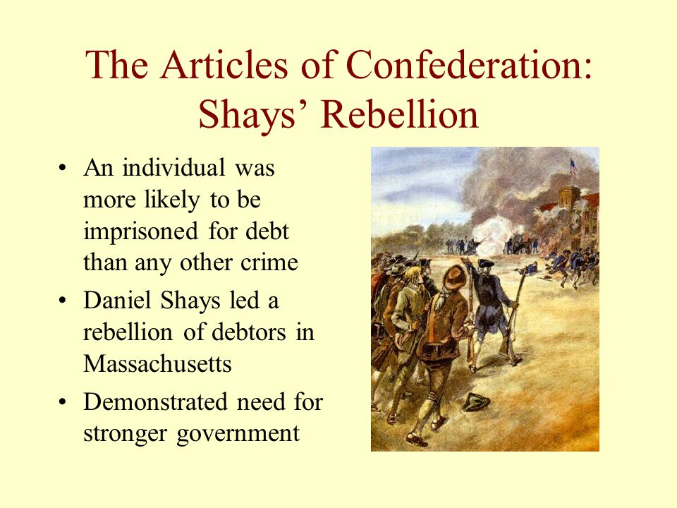 The Articles of Confederation: Shays' Rebellion