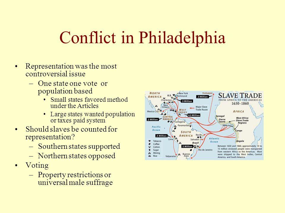 Conflict in Philadelphia