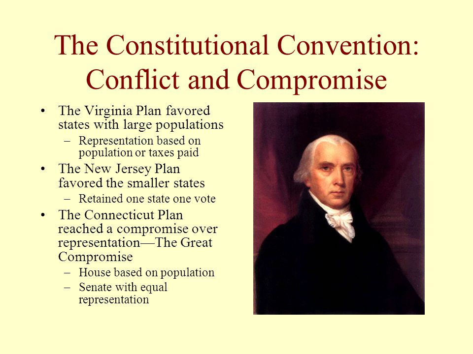 The Constitutional Convention: Conflict and Compromise