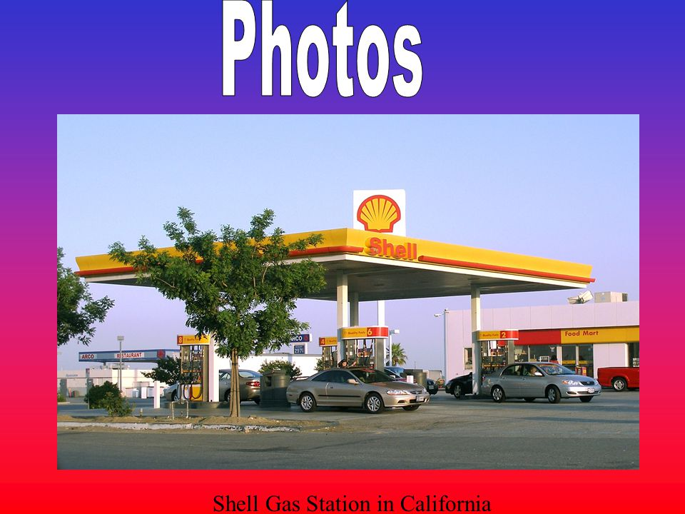 Photos Shell Gas Station in California