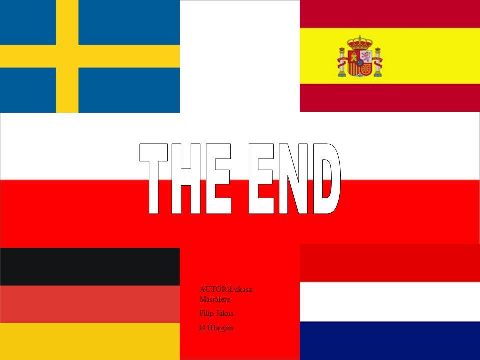 THE END AUTOR:Łukasz Mastalerz Filip Jakus kl.IIIa gim