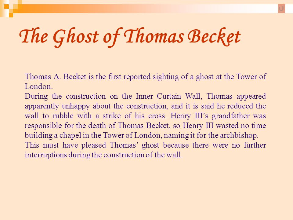 The Ghost of Thomas Becket