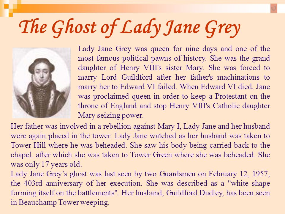 The Ghost of Lady Jane Grey