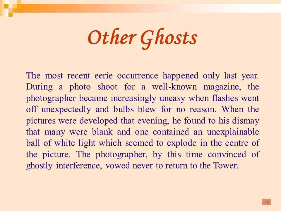 Other Ghosts