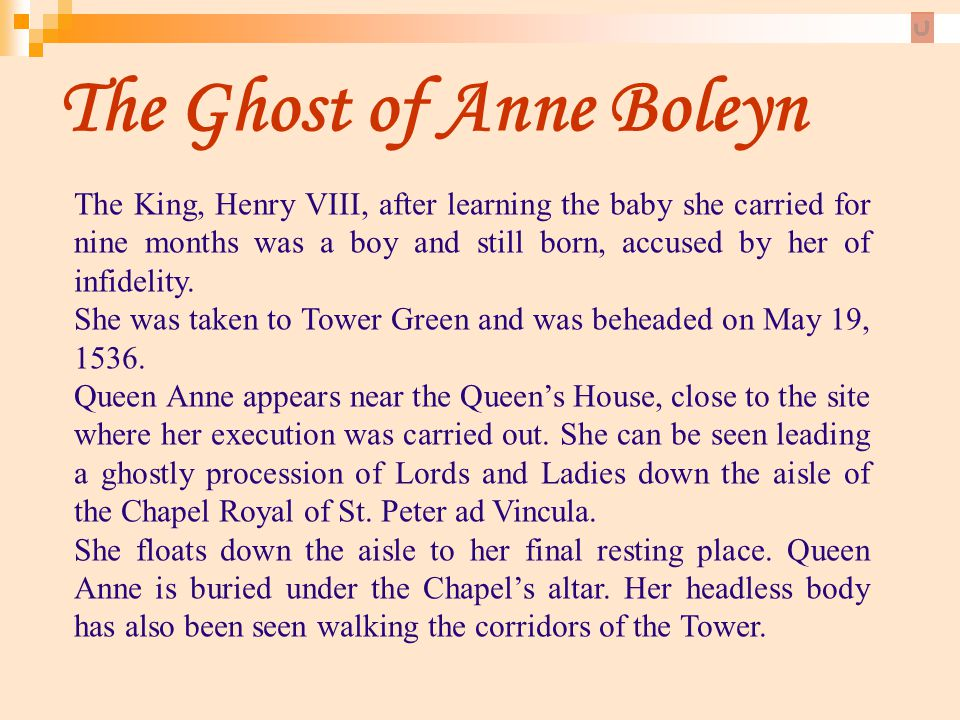 The Ghost of Anne Boleyn