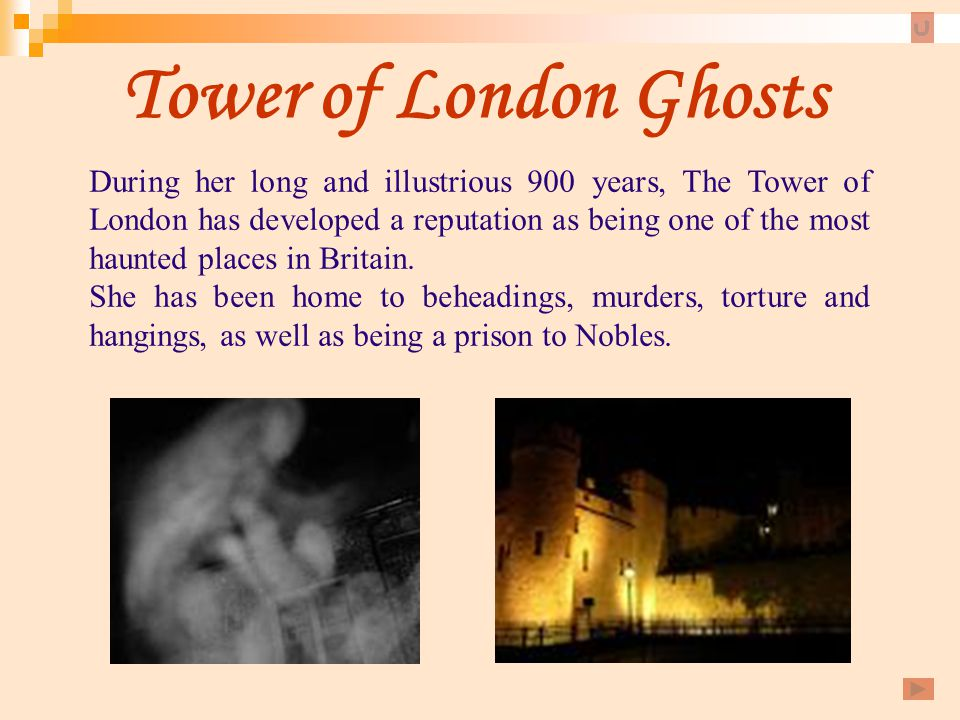 Tower of London Ghosts