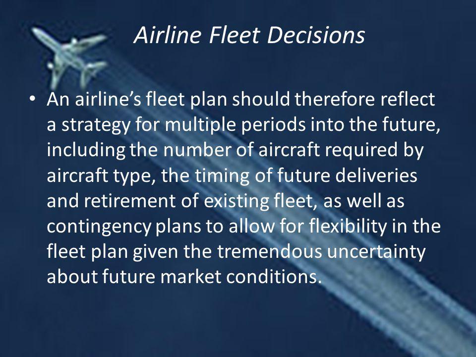 Airline Fleet Decisions