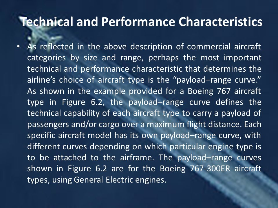 Technical and Performance Characteristics