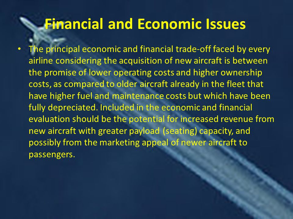 Financial and Economic Issues