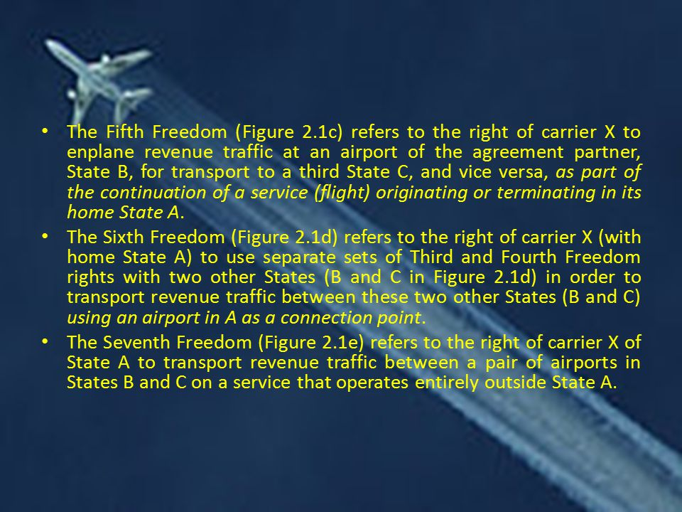 The Fifth Freedom (Figure 2