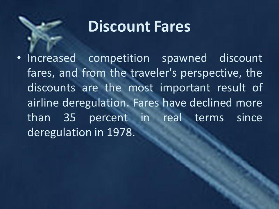 Discount Fares
