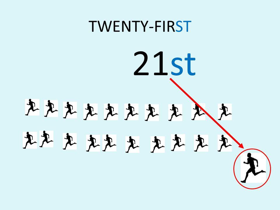 TWENTY-FIRST 21st