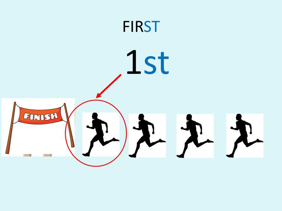 FIRST 1st