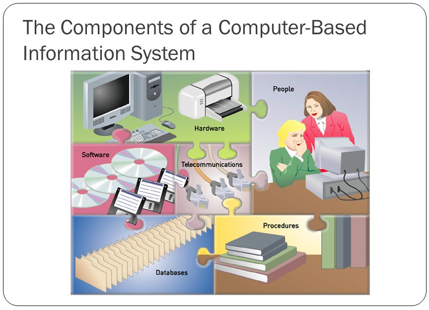 The Components of a Computer-Based Information System