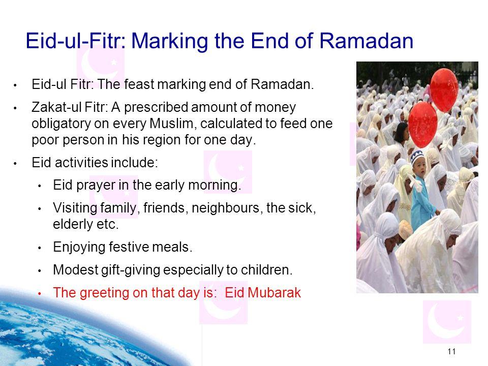 Eid-ul-Fitr: Marking the End of Ramadan