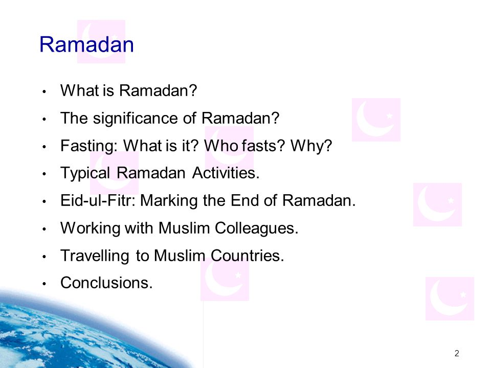 Ramadan What is Ramadan The significance of Ramadan