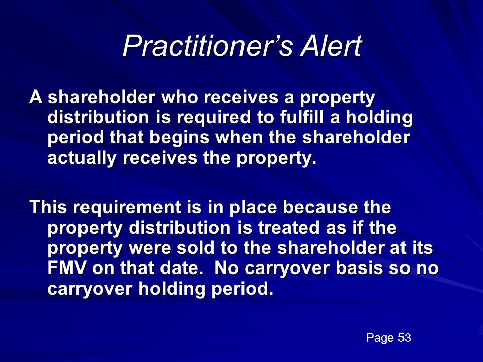 Practitioner's Alert