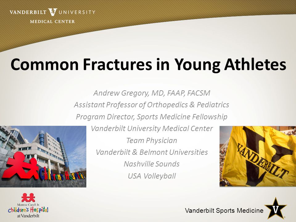 Common Fractures in Young Athletes