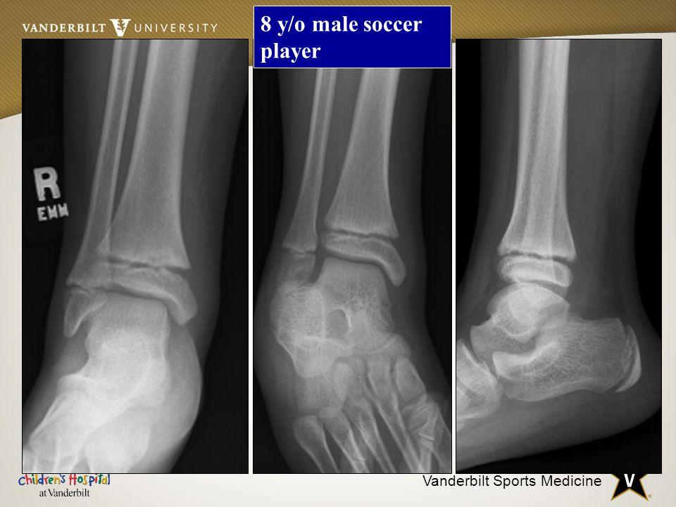 8 y/o male soccer player