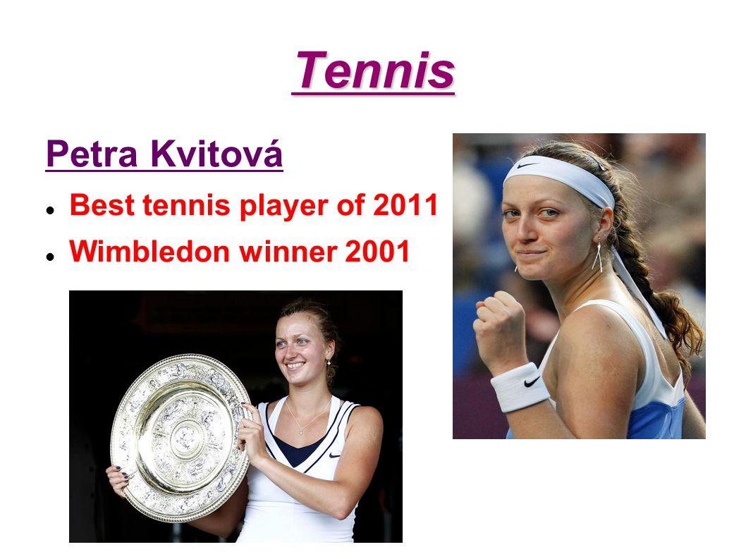 Tennis Petra Kvitová Best tennis player of 2011 Wimbledon winner 2001