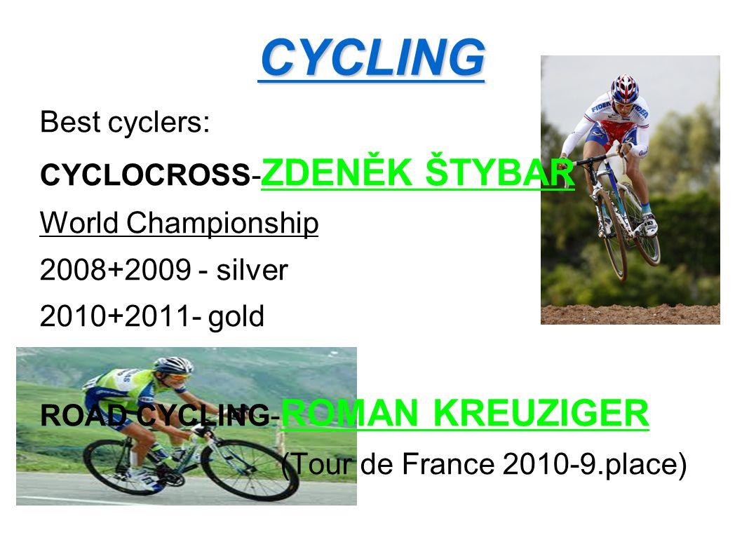 CYCLING Best cyclers: CYCLOCROSS-ZDENĚK ŠTYBAR World Championship