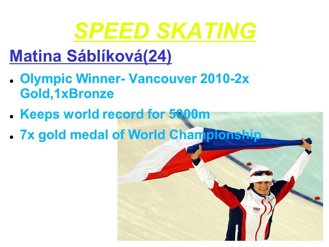 SPEED SKATING Matina Sáblíková(24)