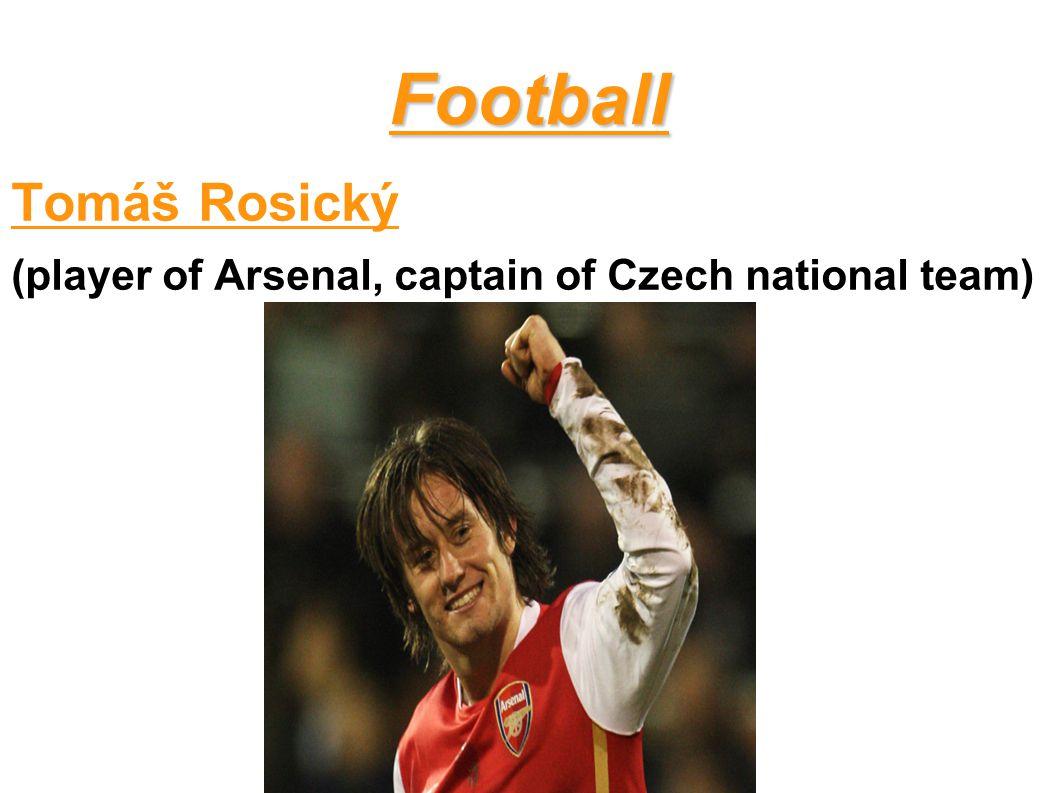 Football Tomáš Rosický