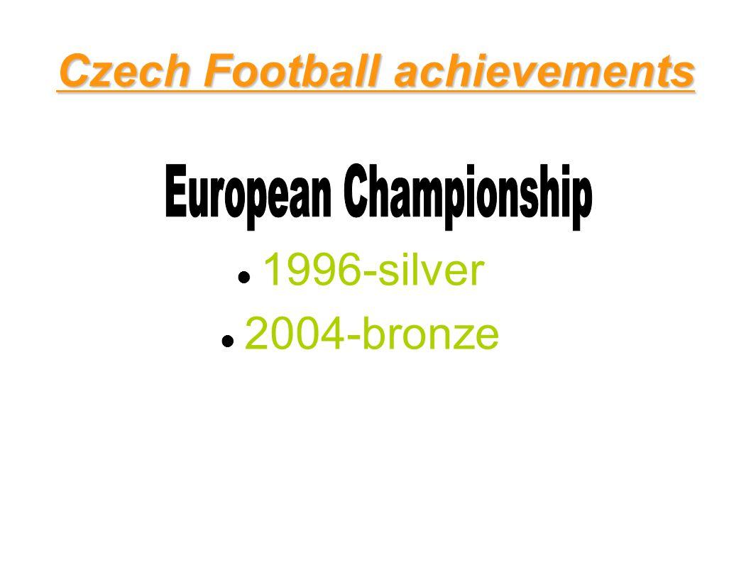 Czech Football achievements