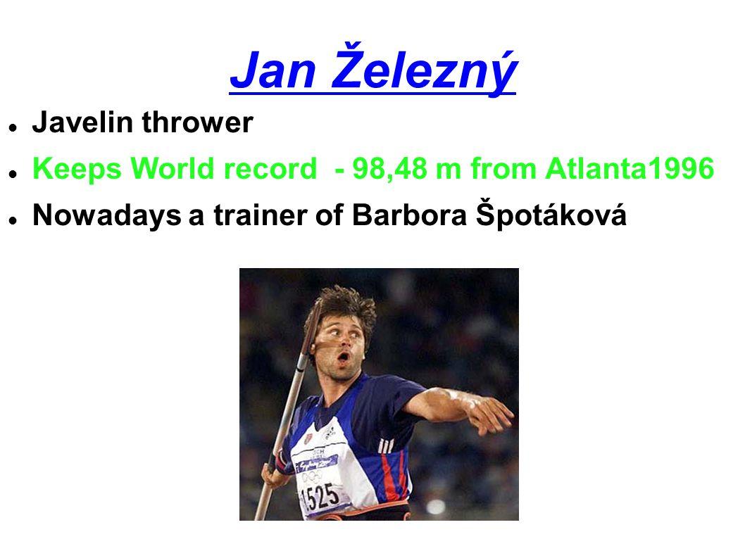 Jan Železný Javelin thrower