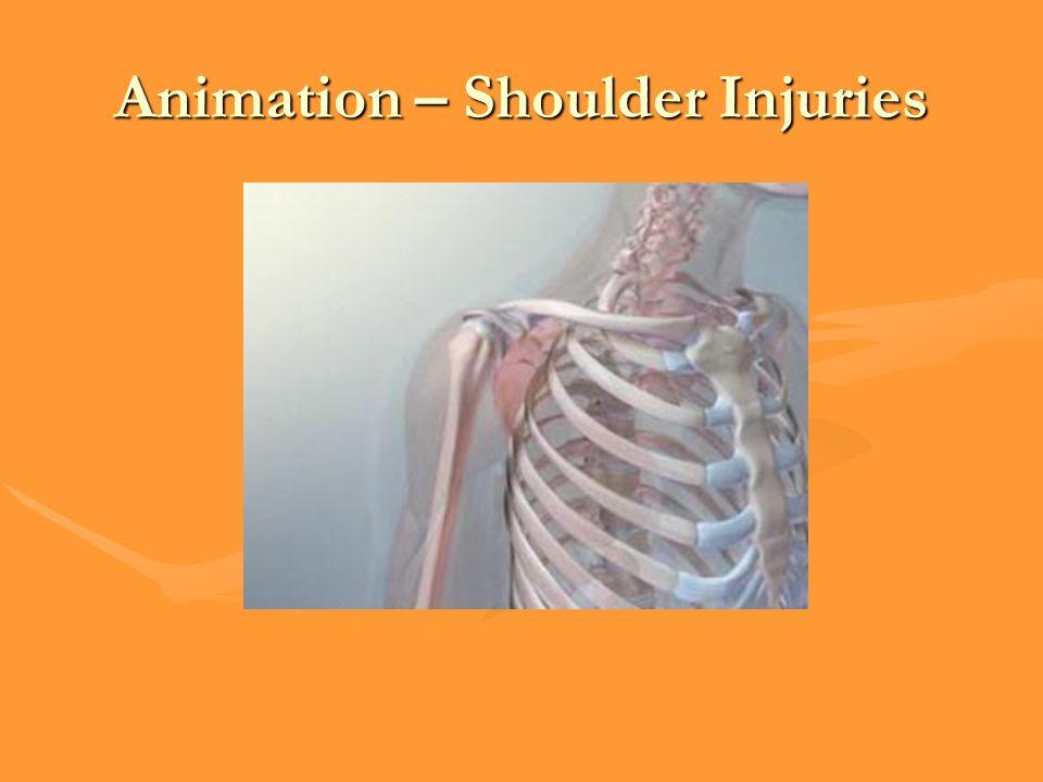 Animation – Shoulder Injuries