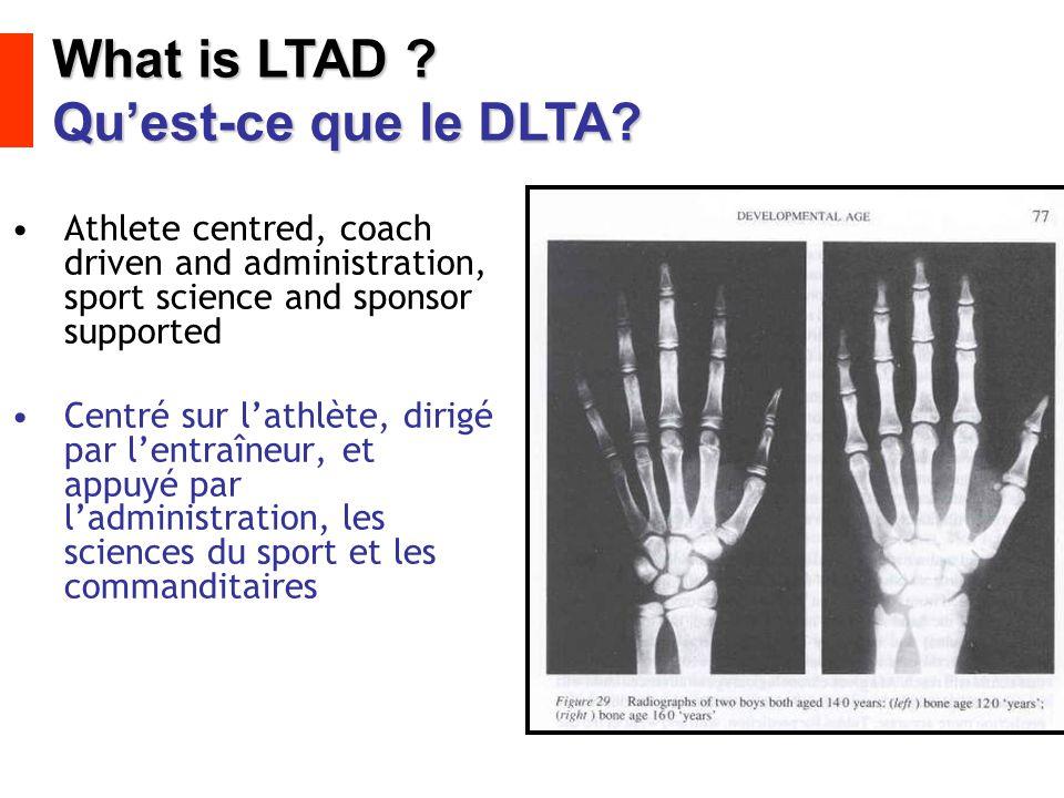 What is LTAD Qu'est-ce que le DLTA