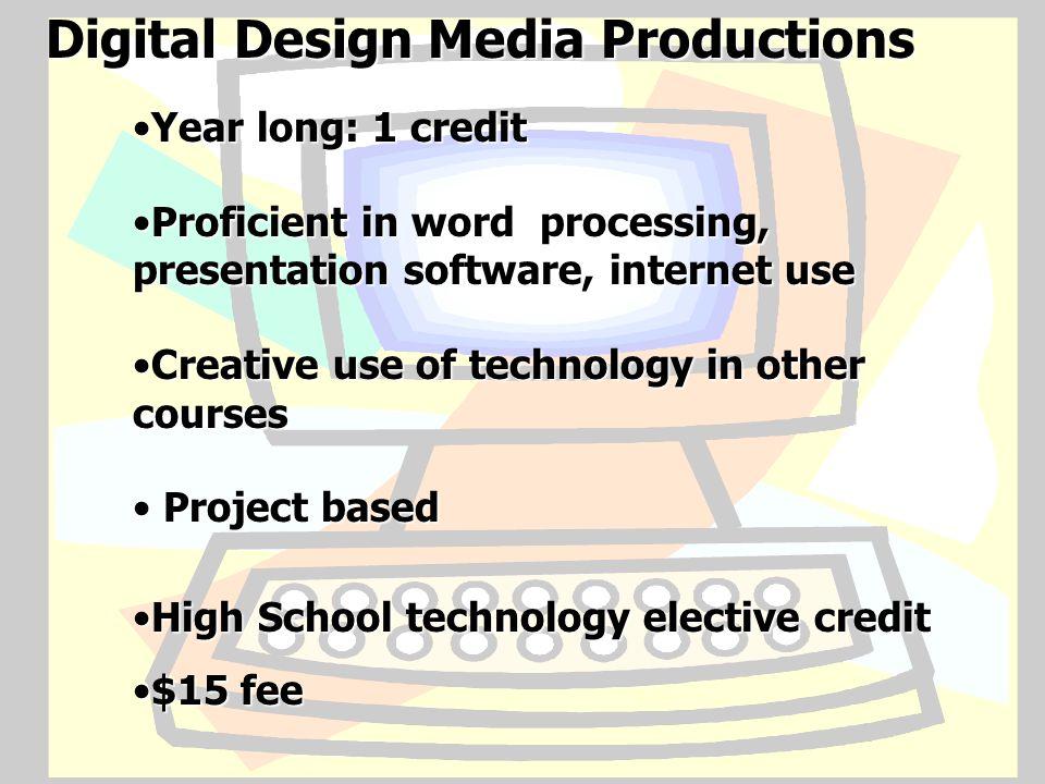 Digital Design Media Productions
