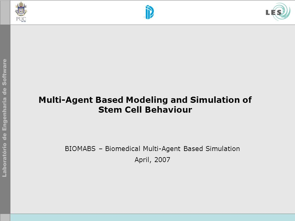 Multi-Agent Based Modeling and Simulation of Stem Cell Behaviour