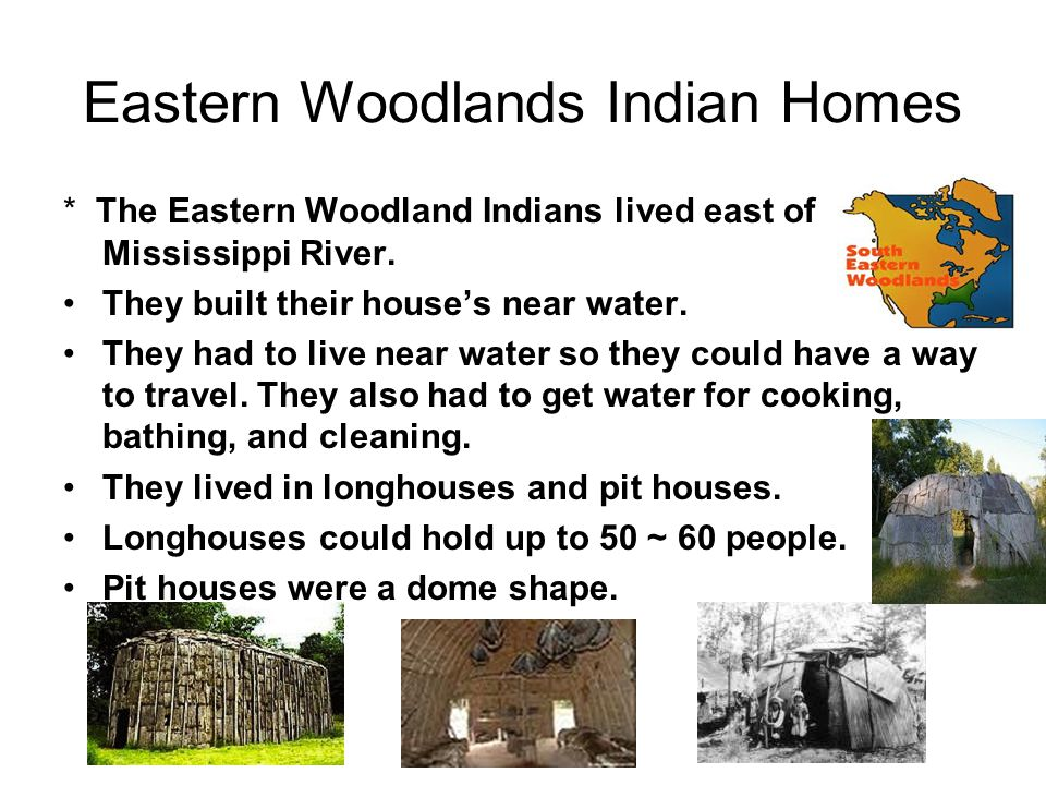 eastern woodland indians The eastern woodland region of north america is bordered by: the subarctic to the north, the plains to the west, the southeast to the south, and the atlantic ocean to.