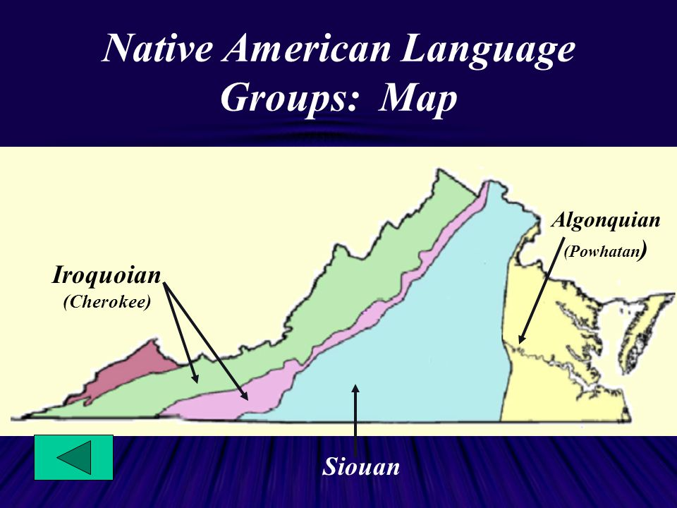 Native Americans The First Inhabitants Of Virginia  Ppt