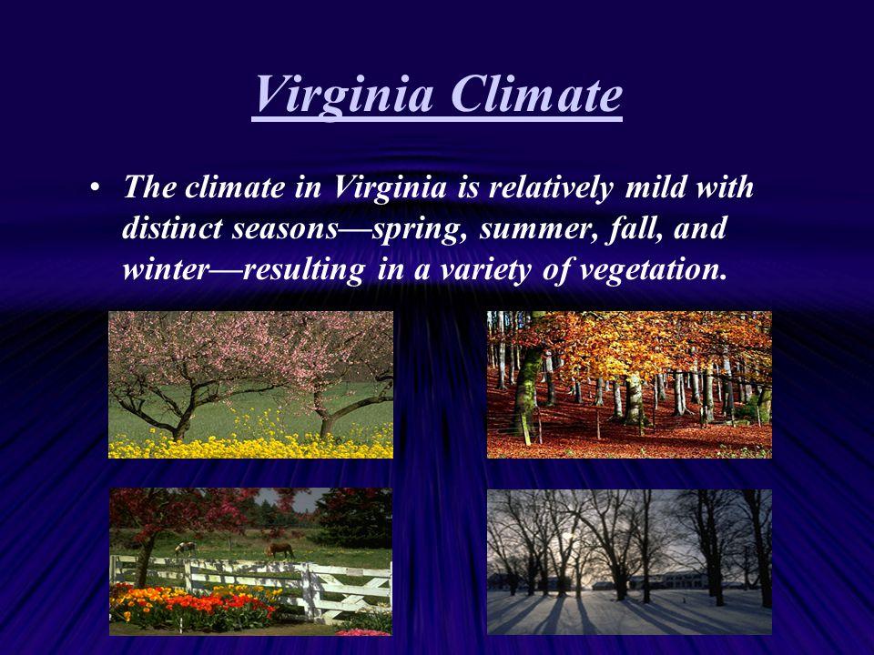 Virginia Climate