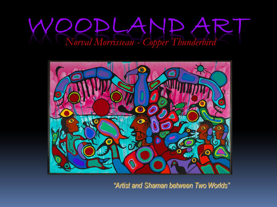 Norval Morrisseau - Copper Thunderbird