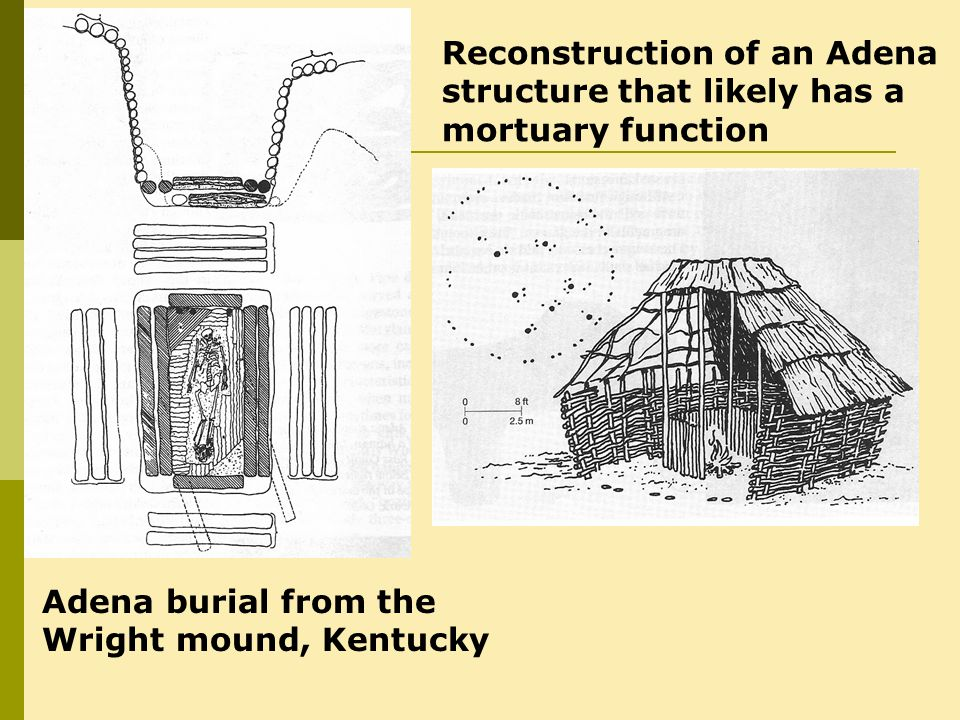 Reconstruction of an Adena structure that likely has a mortuary function