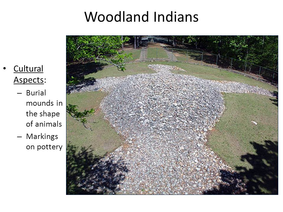 Woodland Indians Cultural Aspects: