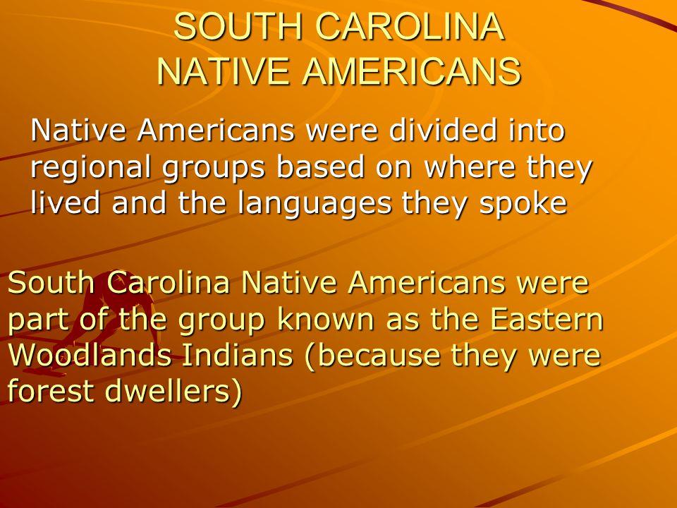 SOUTH CAROLINA NATIVE AMERICANS