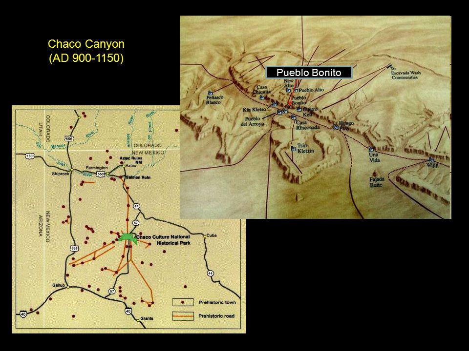 Chaco Canyon (AD 900-1150) Pueblo Bonito