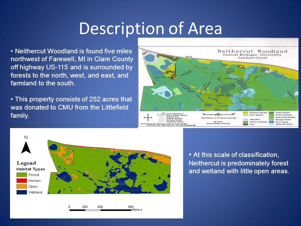 Description of Area