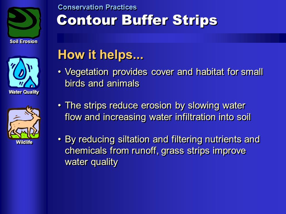 Contour Buffer Strips How it helps...