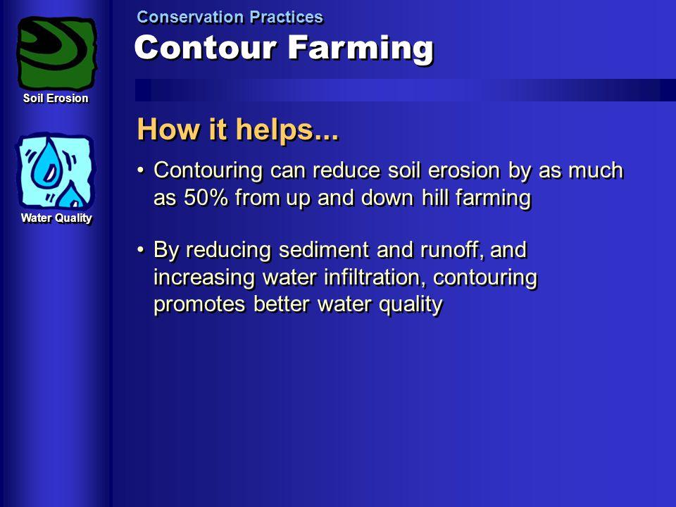Contour Farming How it helps...