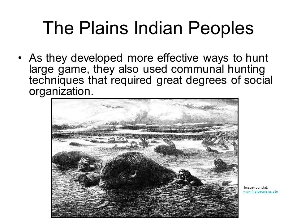 The Plains Indian Peoples