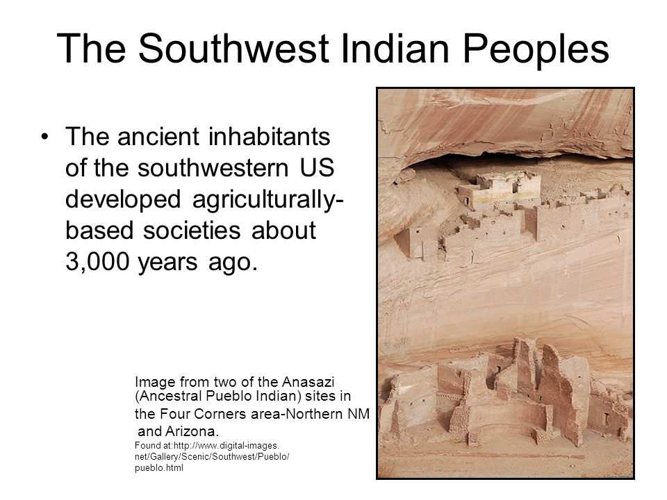 The Southwest Indian Peoples