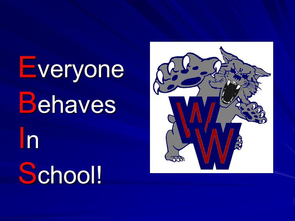 Everyone Behaves In School!